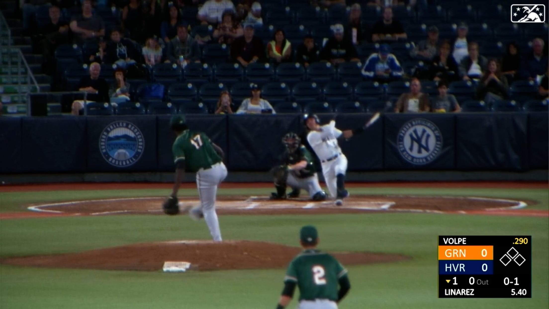 Volpe drills 27th homer
