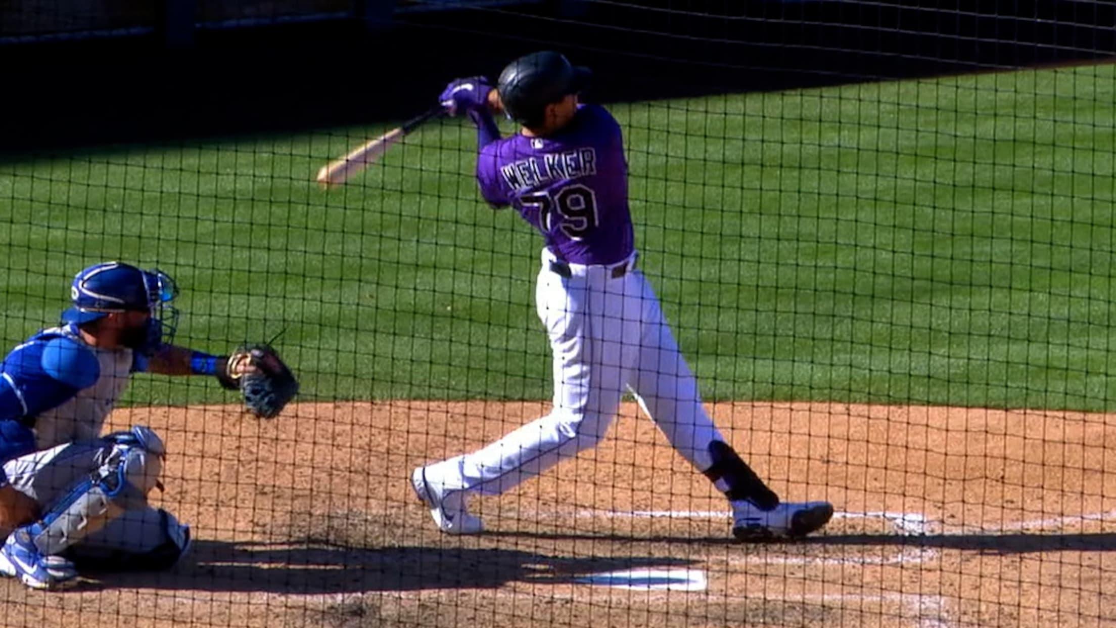 Colton Welker's solo home run