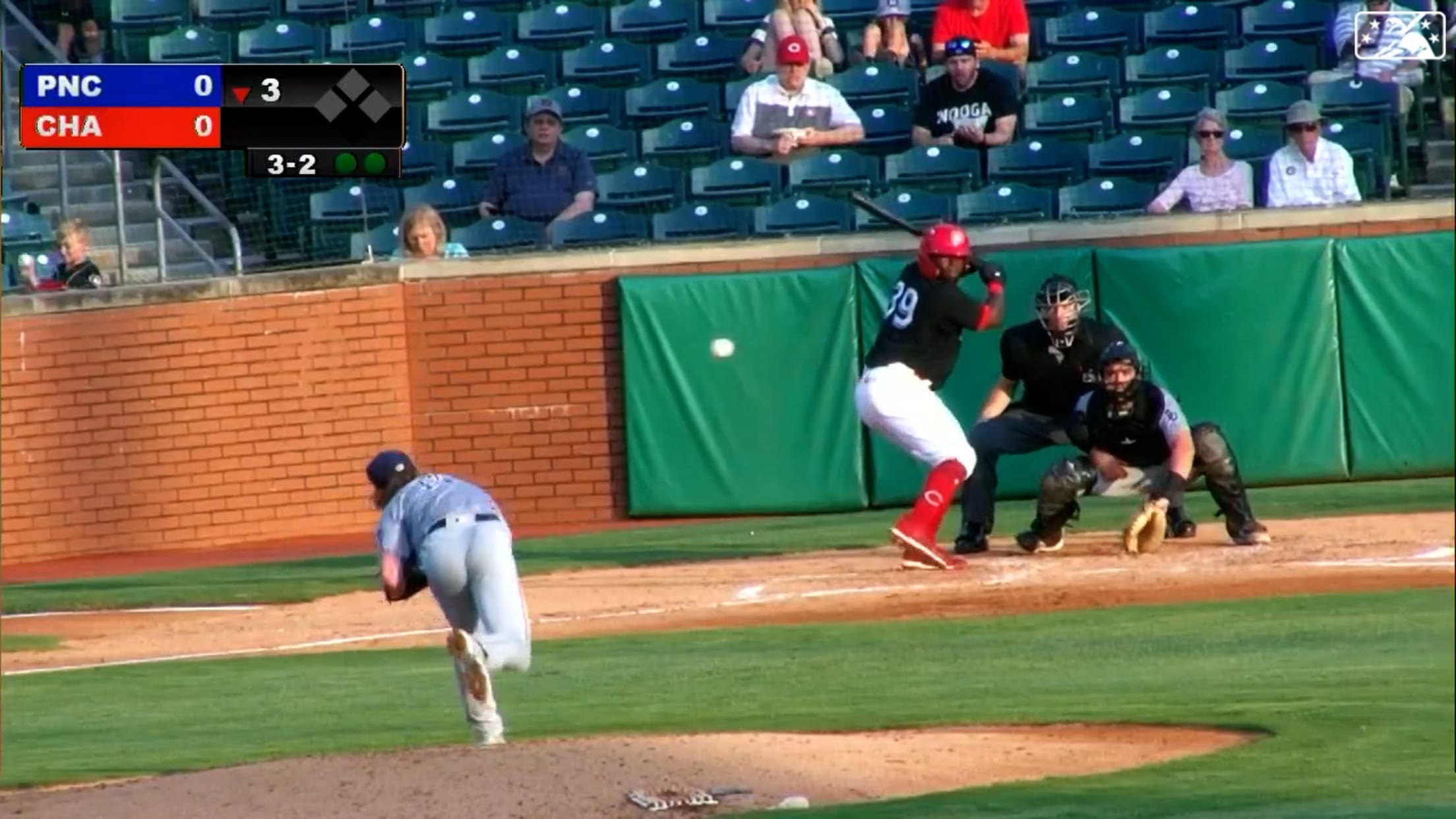 Meyer notches two strikeouts
