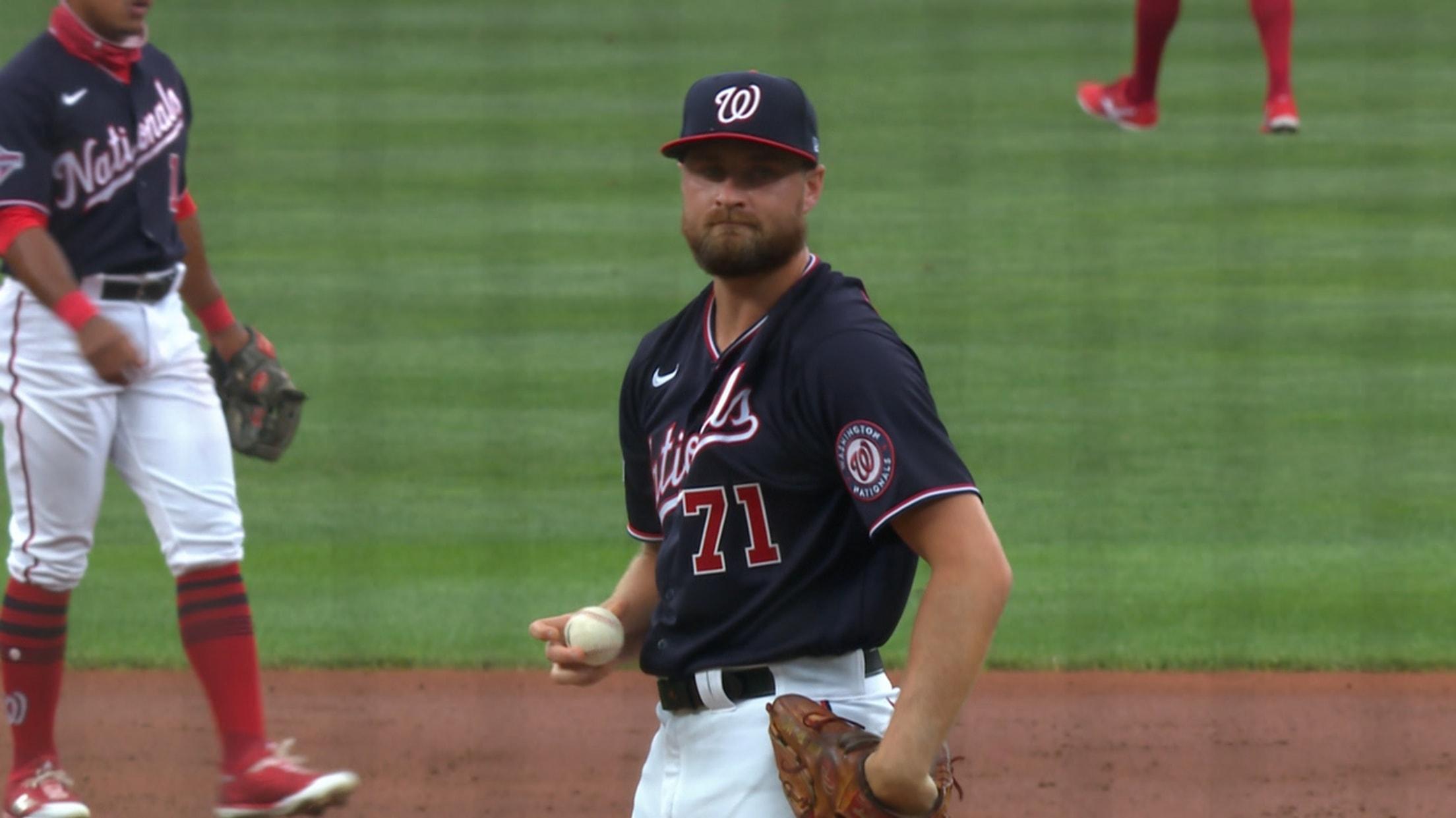 Dakota Bacus' MLB debut