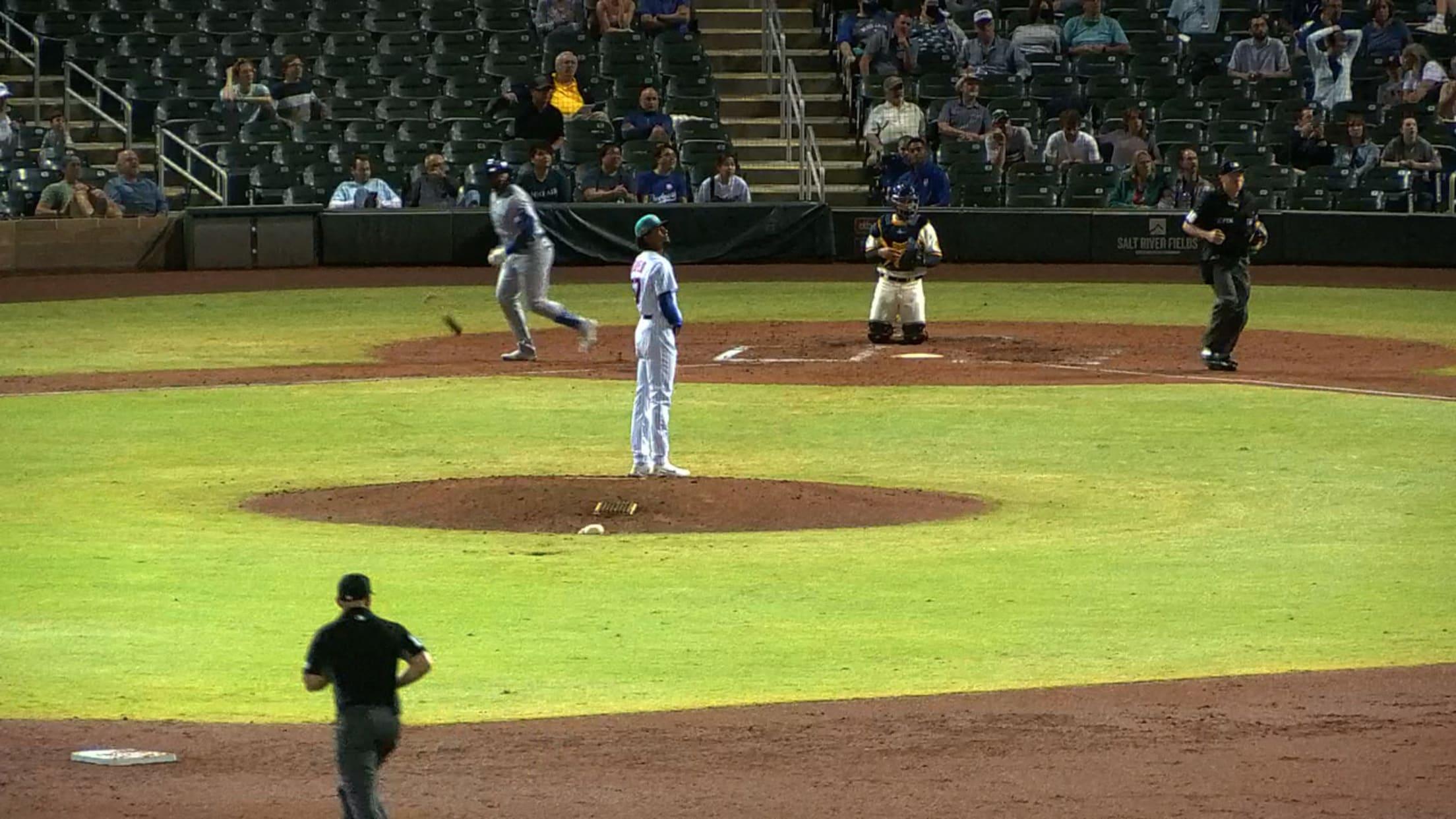 Nelson Velazquez's solo home run