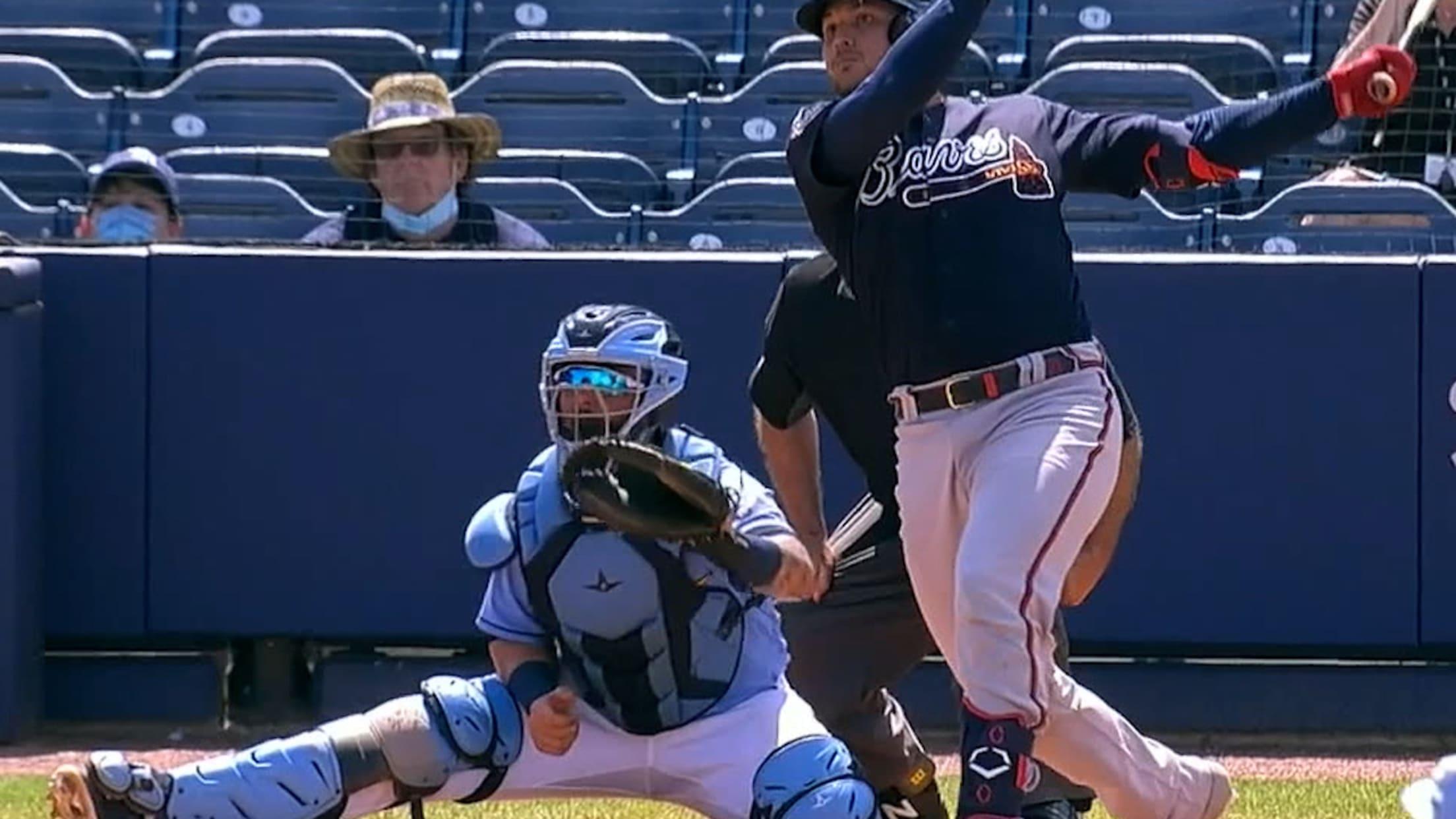Alex Jackson's two-run home run