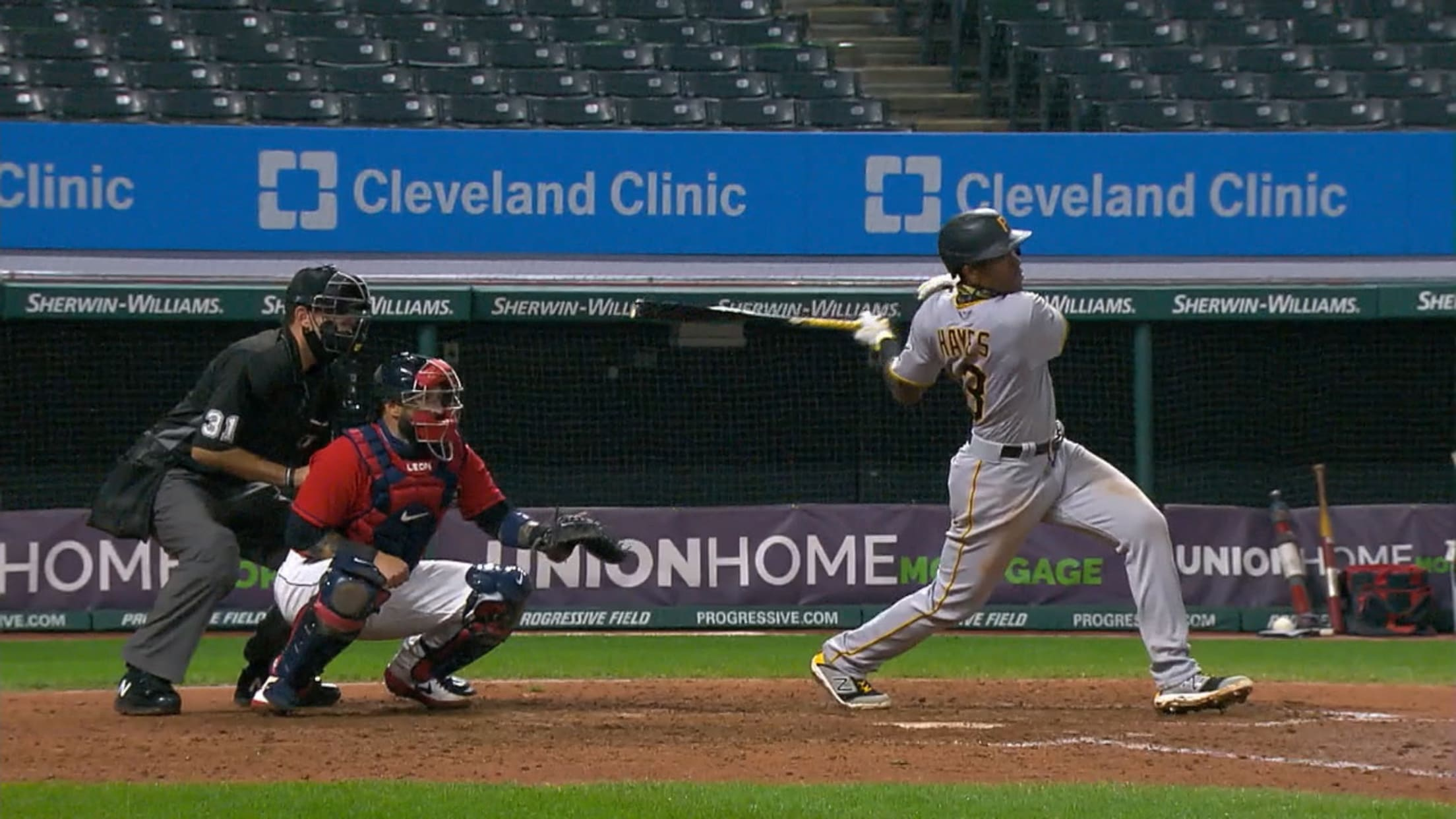 Ke'Bryan Hayes' RBI single