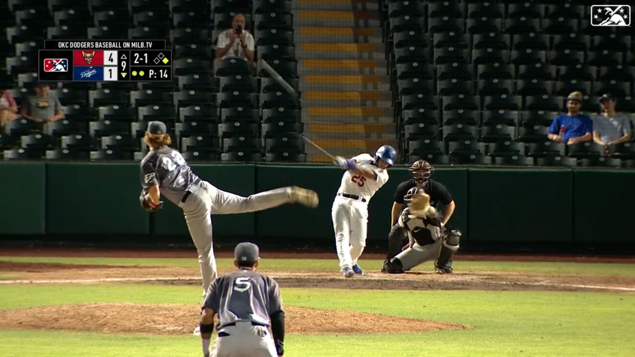 Ruiz crushes seventh home run