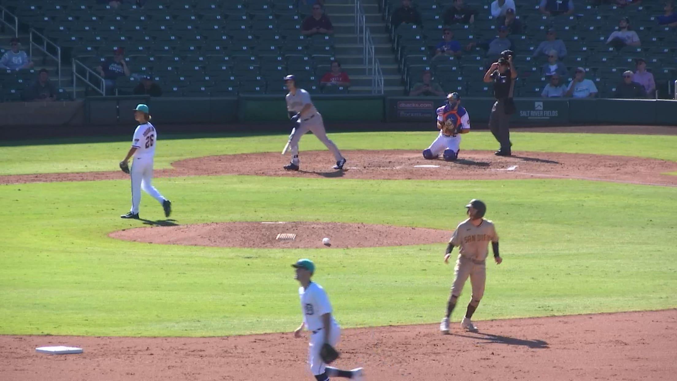 Zach DeLoach's three-run home run