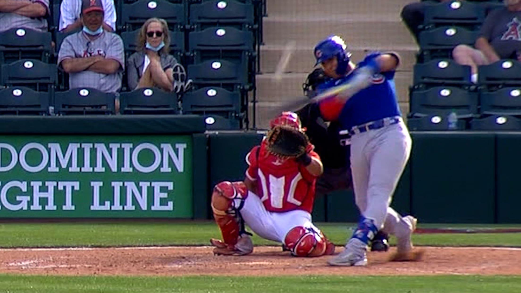 Miguel Amaya's solo home run