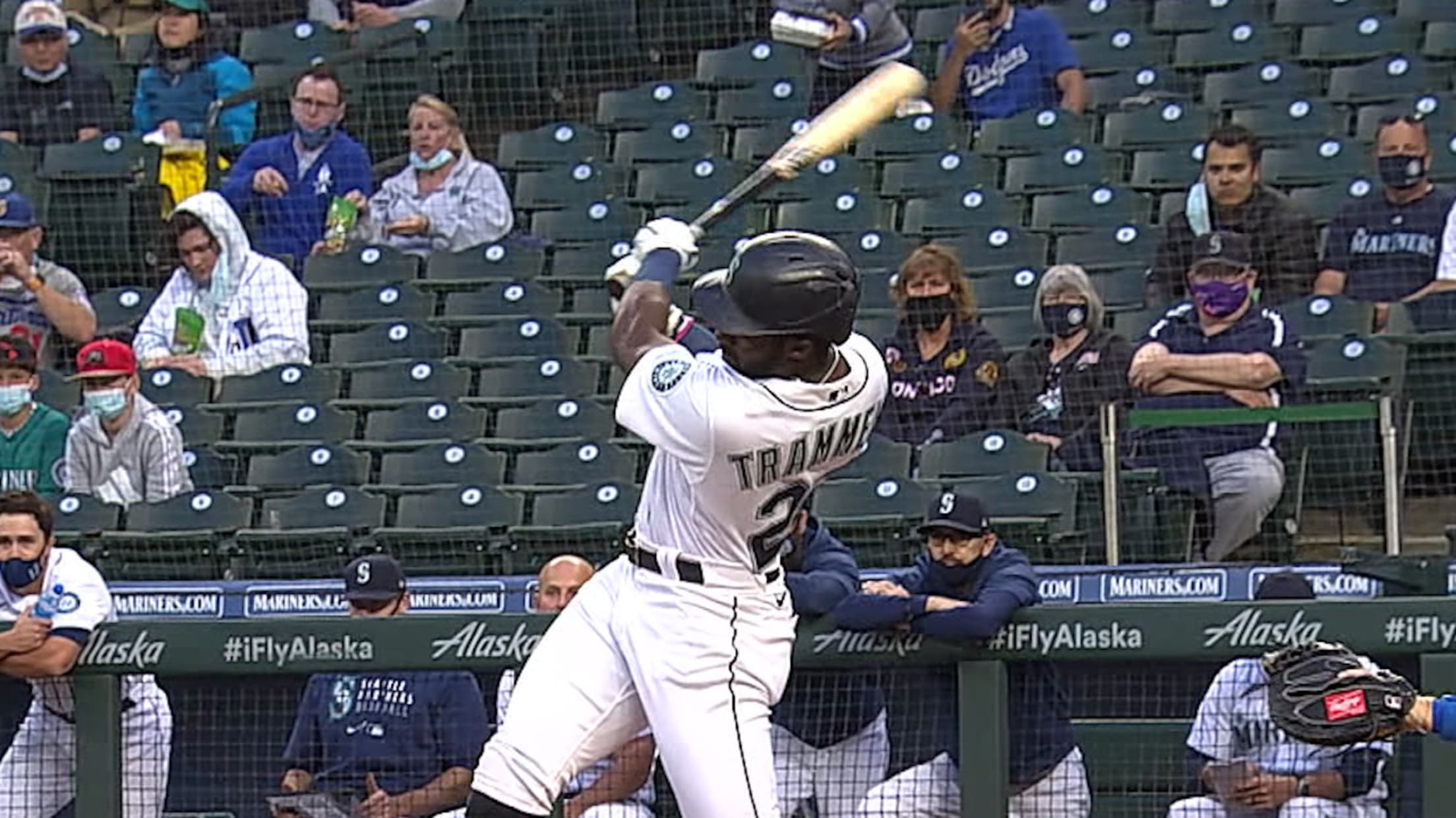 Taylor Trammell's solo home run
