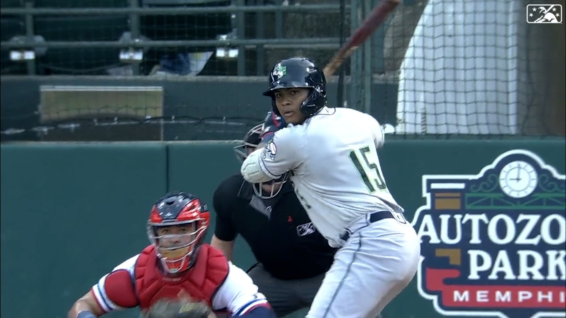 Pache belts two Triple-A homers
