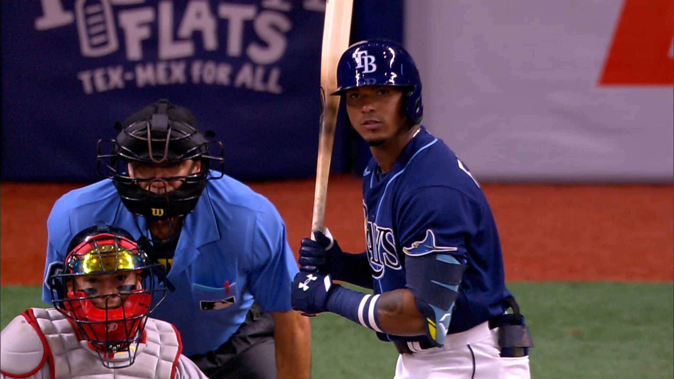 Franco walks in first at-bat