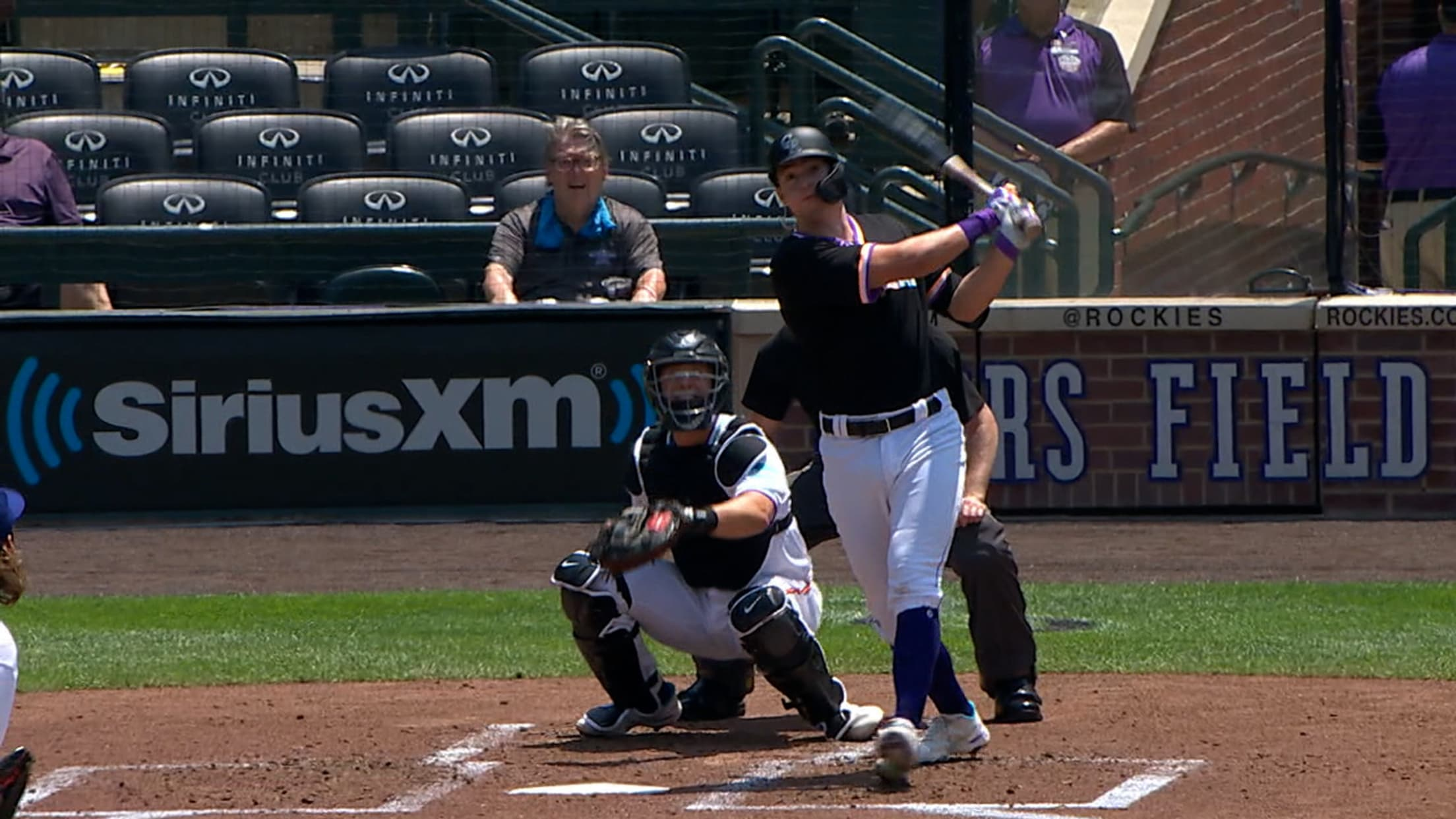Michael Toglia's two-run homer