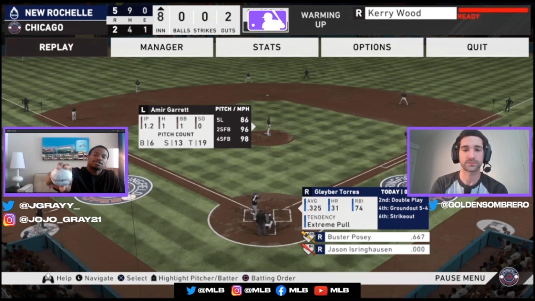 Josiah Gray's fastball grip