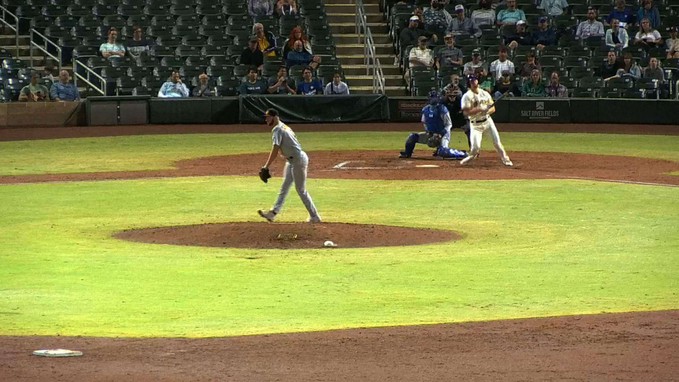 Joey Wiemer's four-hit game