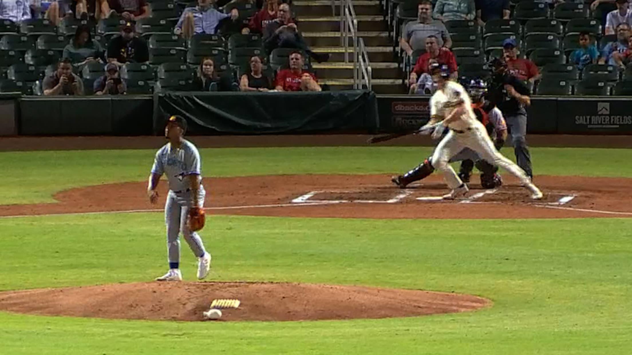 Joey Wiemer's two-run home run