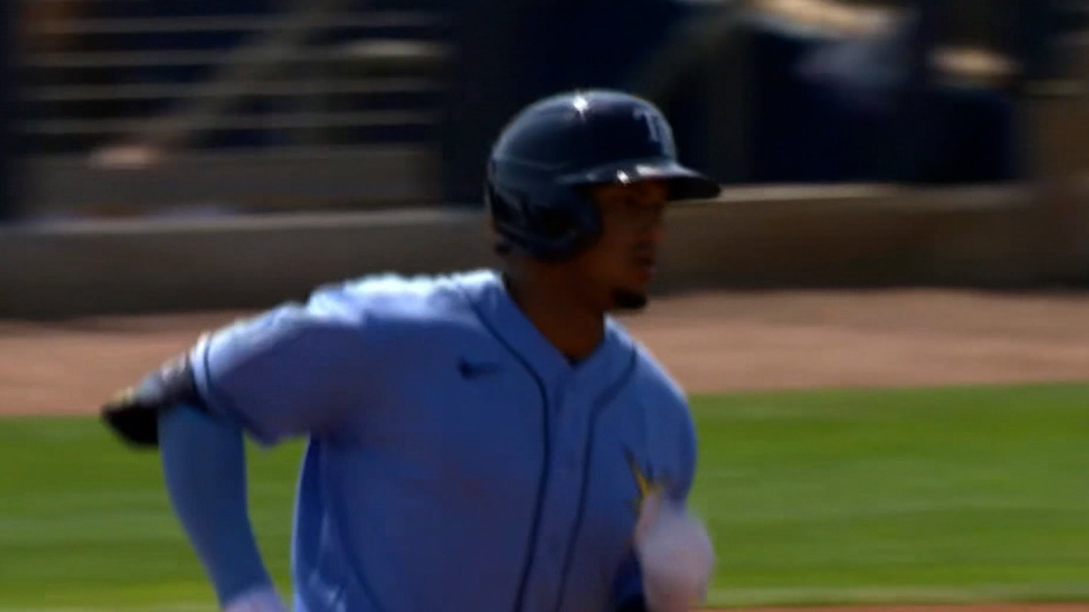 Wander Franco's solo home run