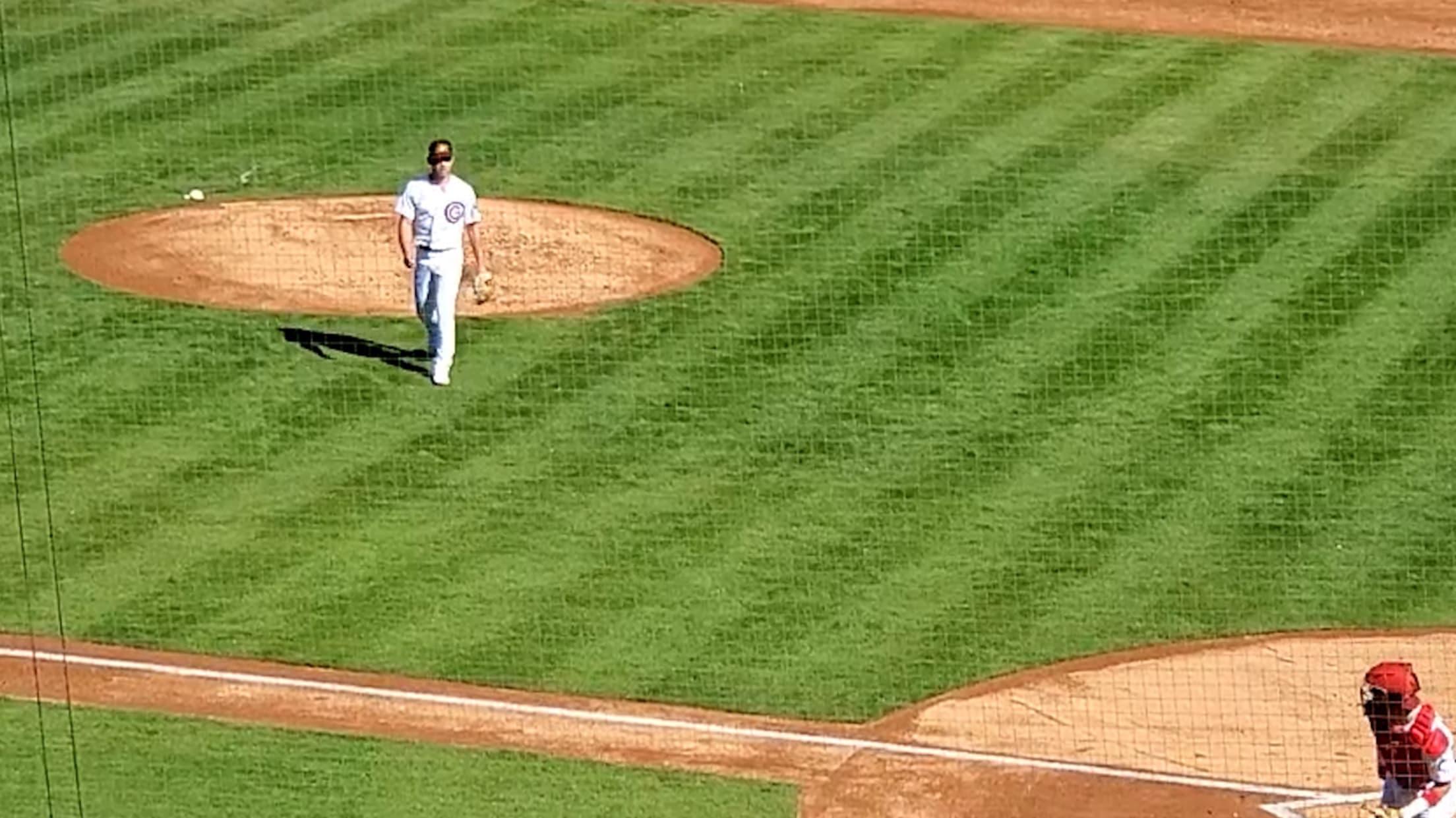 Ryan Jensen strikes out five