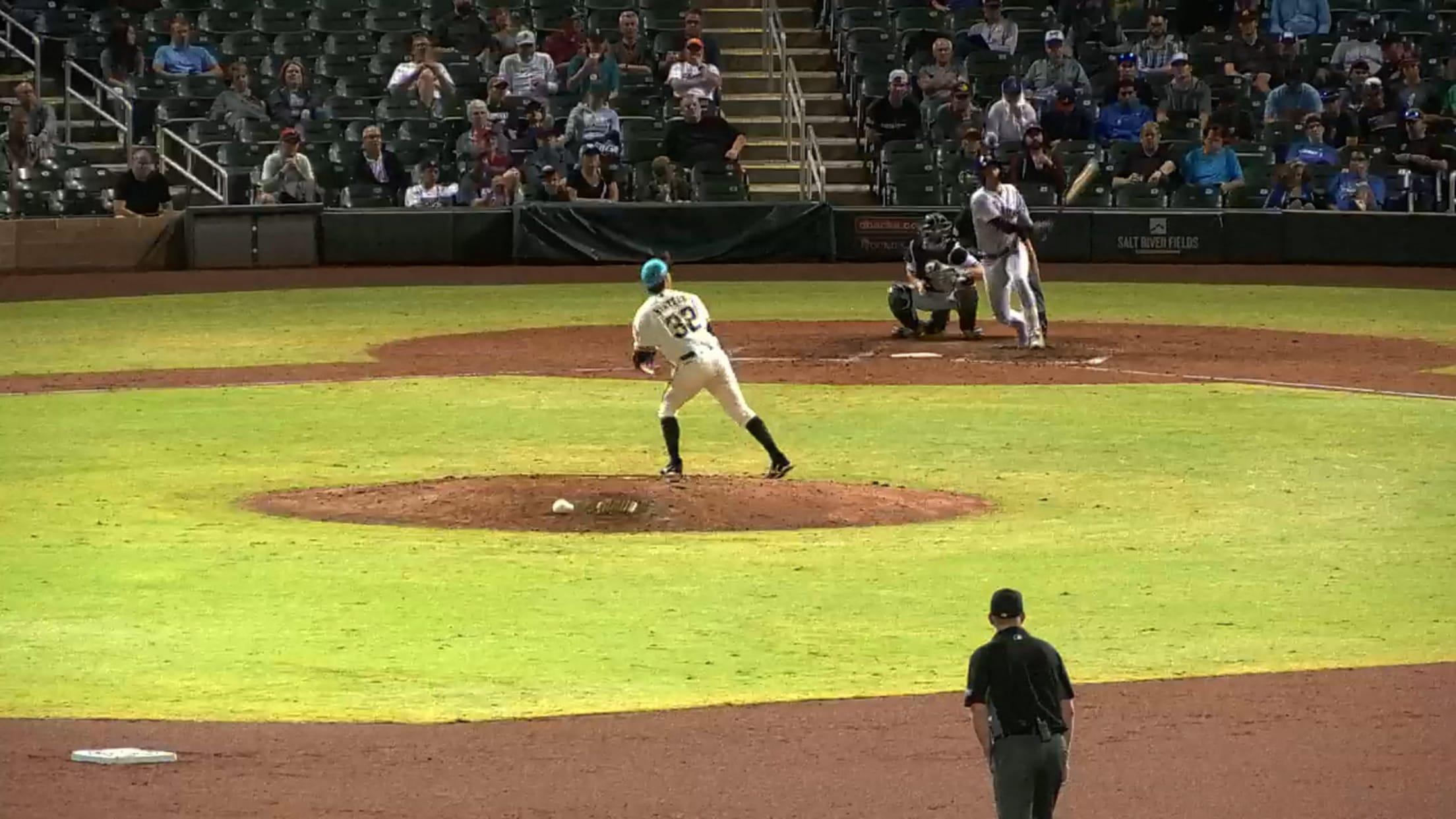 Kessinger's Fall League homer