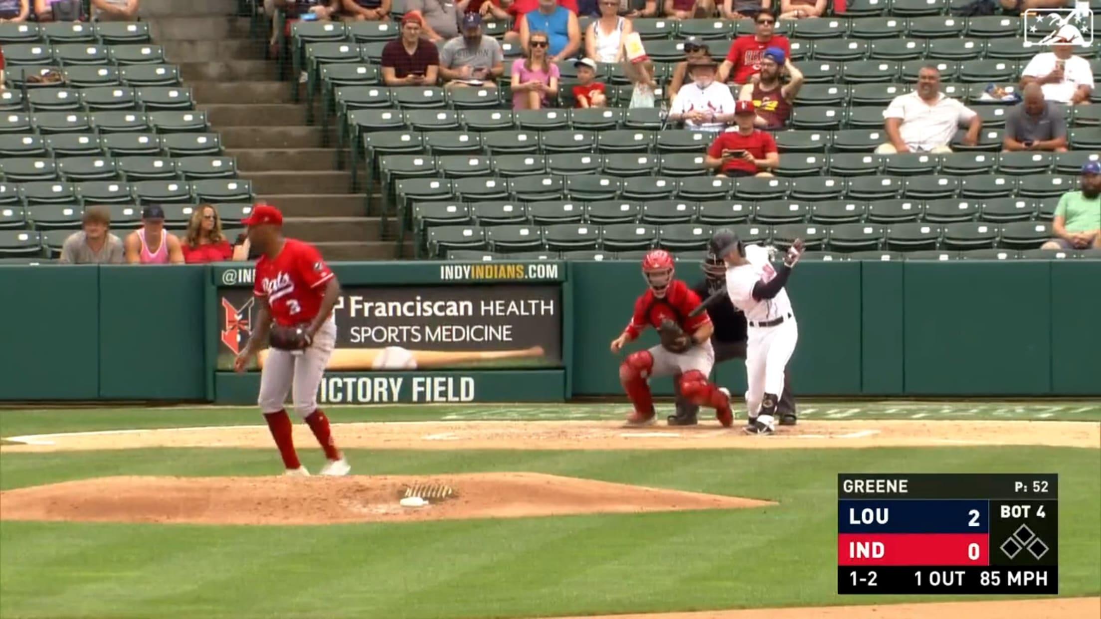 Bats' Greene notches strikeout