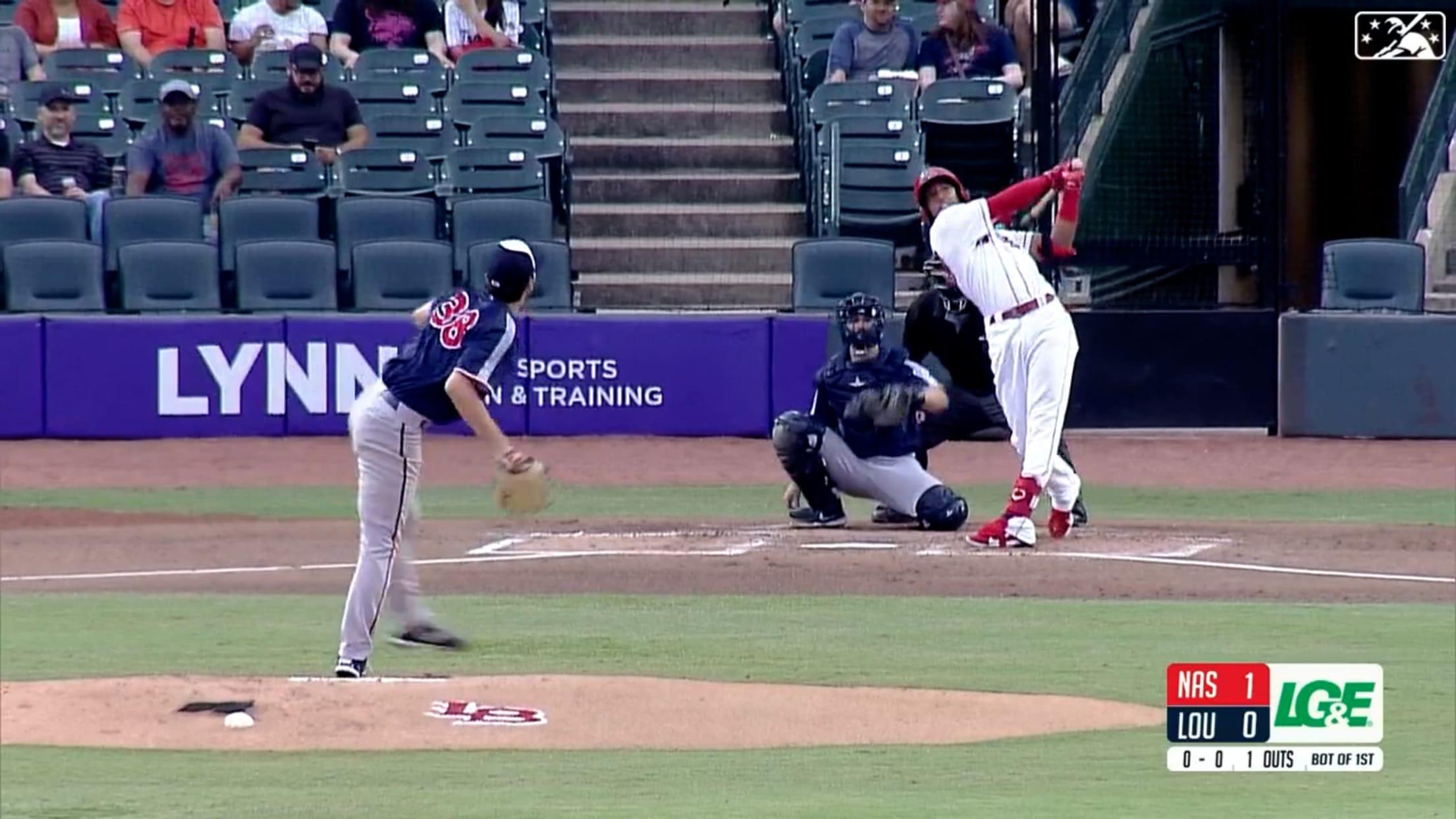 Barrero hits homer No. 19