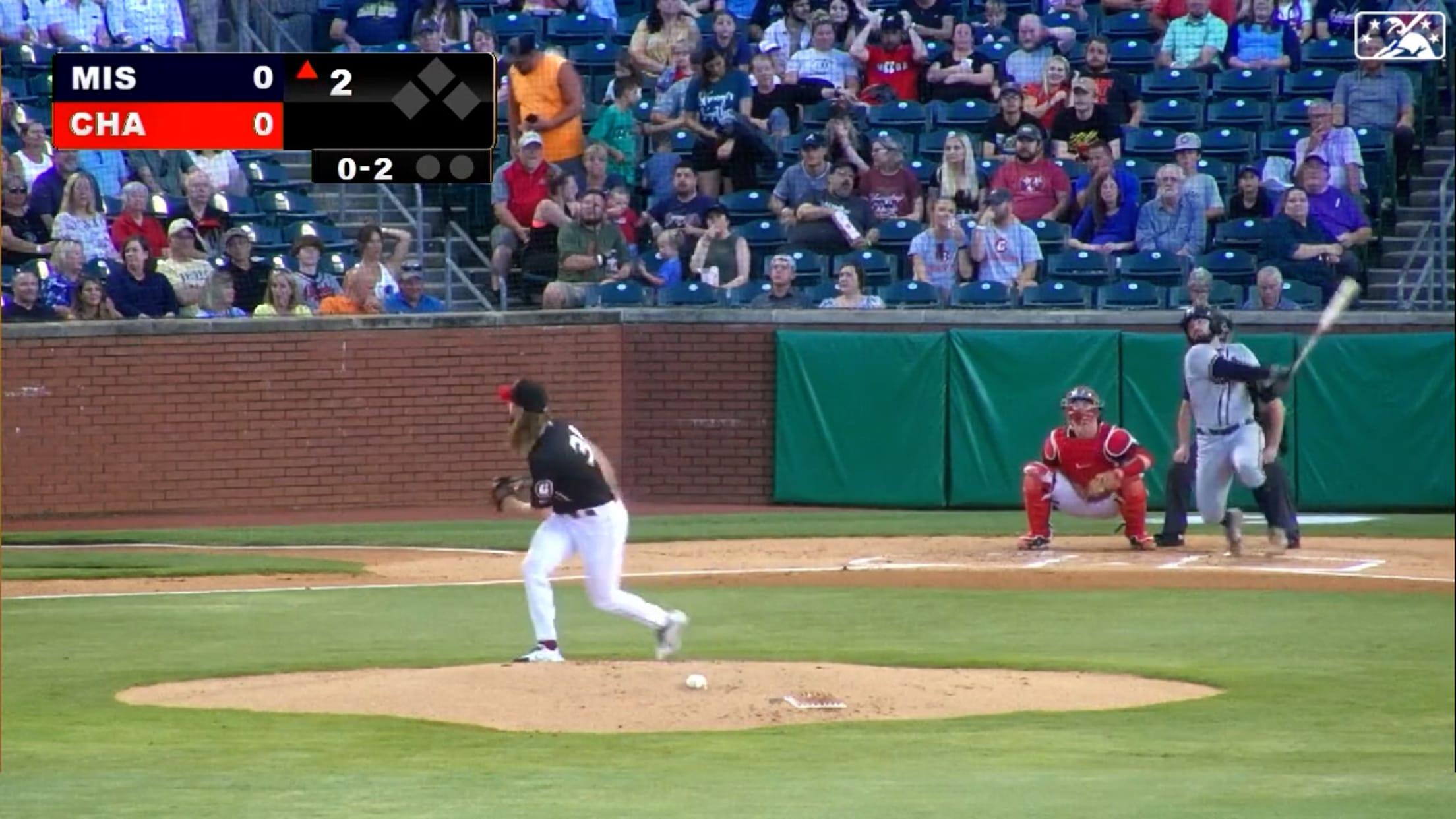 Langeliers swats 22nd home run