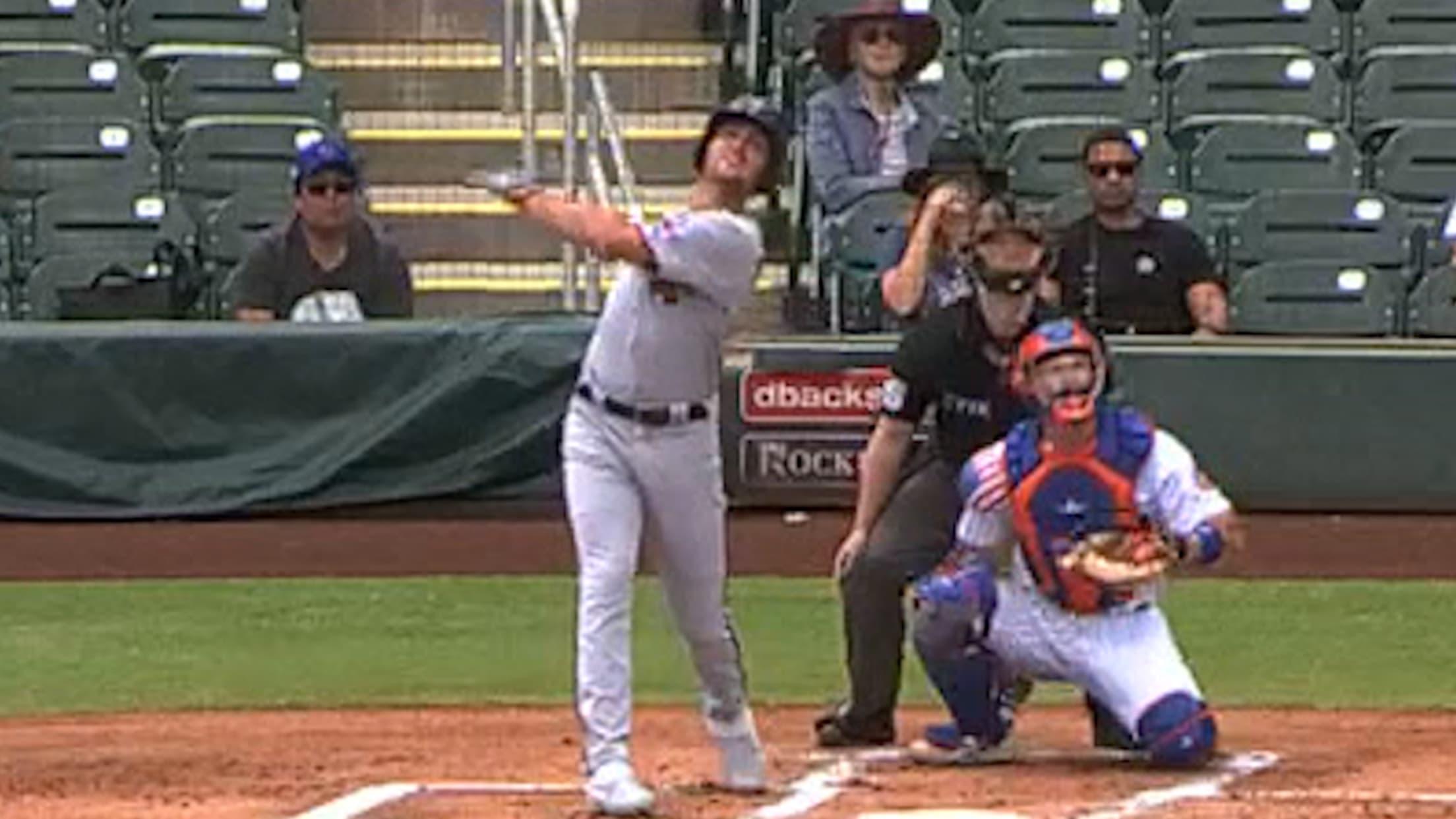 Matt Wallner's solo home run
