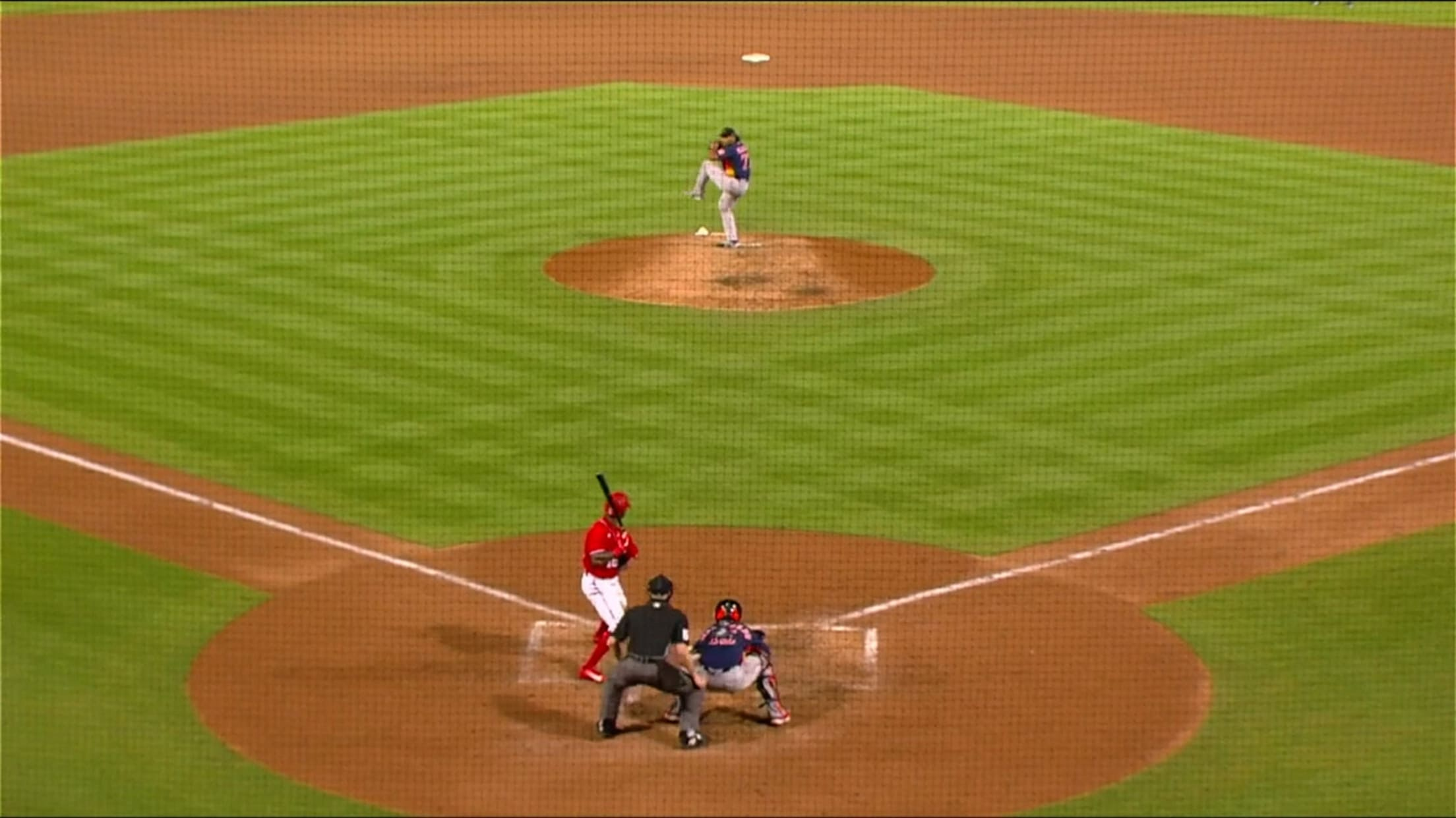 Luis Garcia's immaculate inning