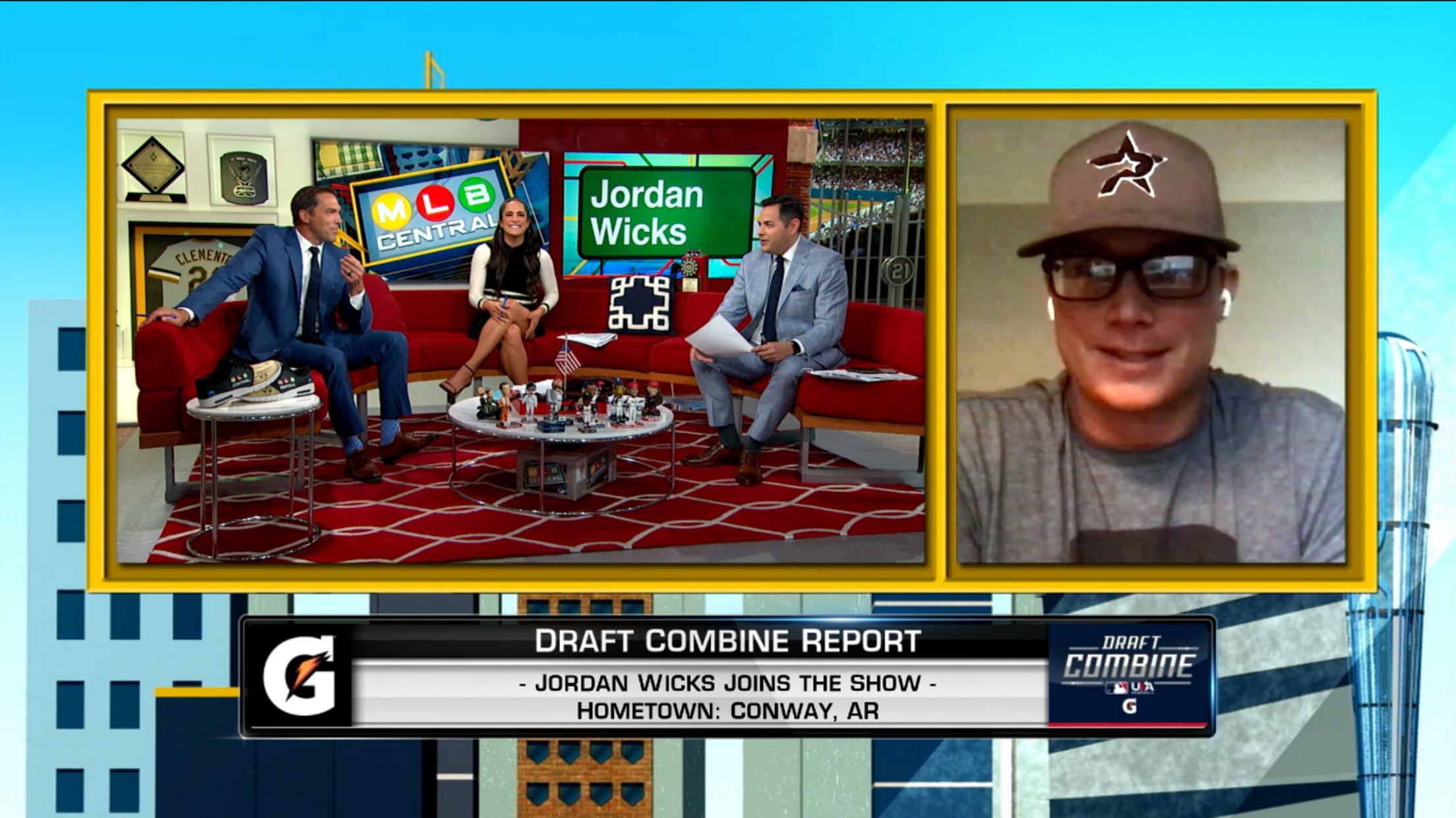 Jordan Wicks on Draft Combine