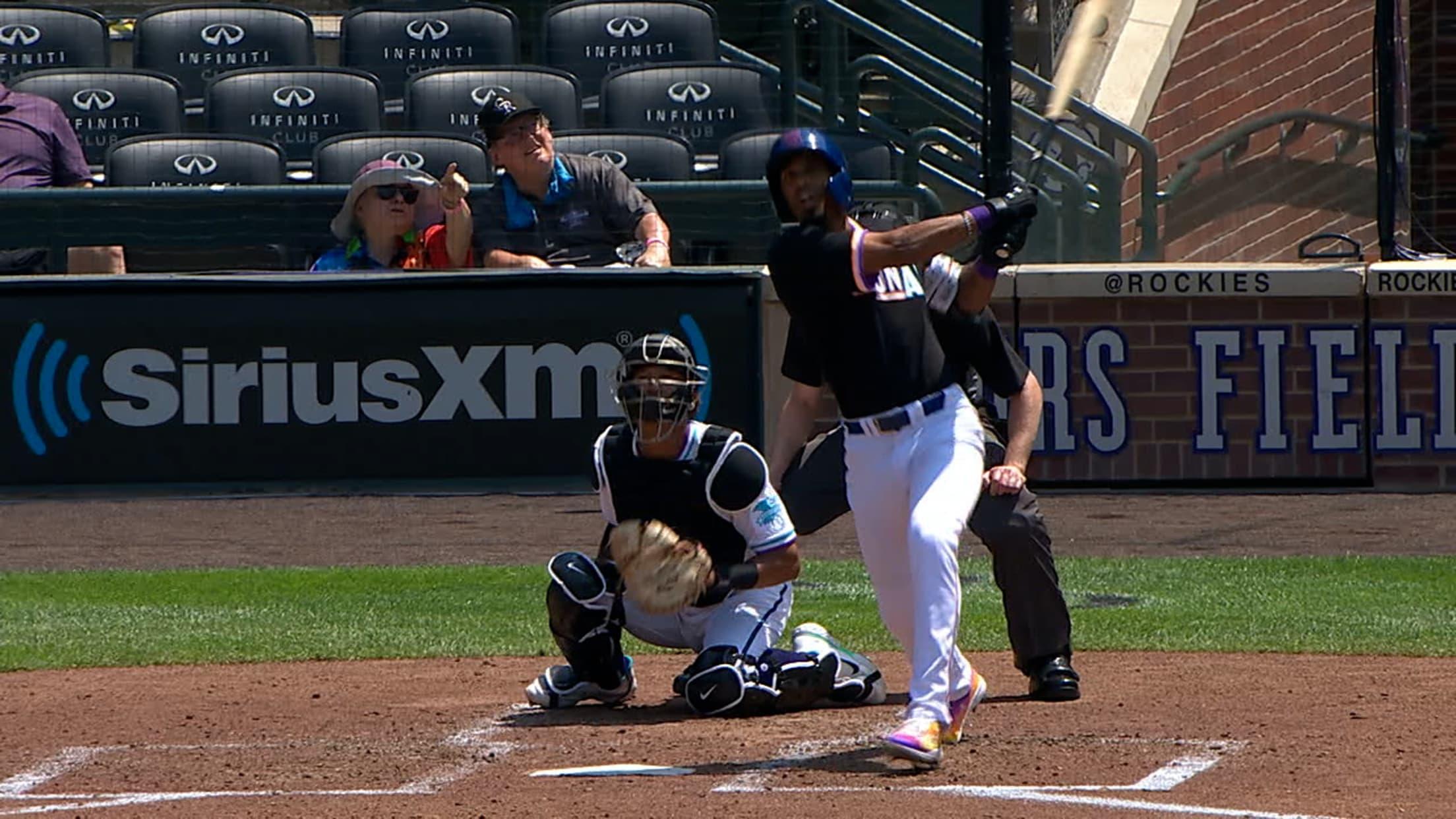 Brennen Davis' solo home run