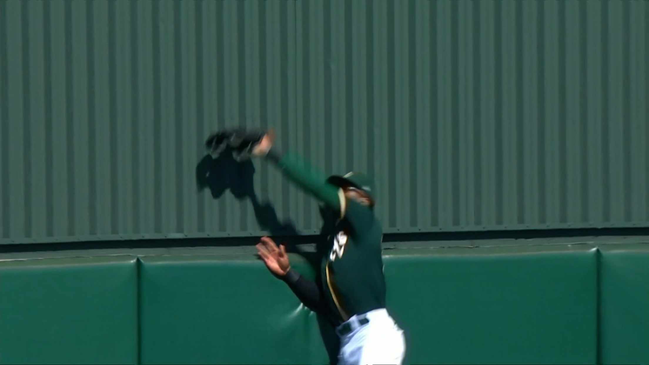 Buddy Reed's leaping catch