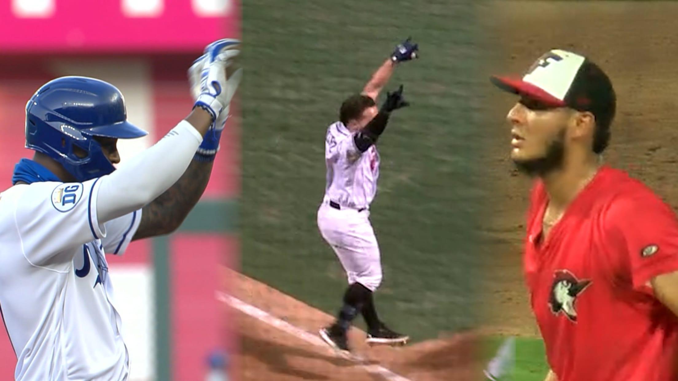 Heath, Quiroz, Rodriguez moments