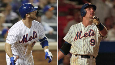 Mets' former, current home run kings meet