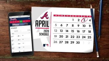 Braves Schedule 2021 Calendar Wallpaper