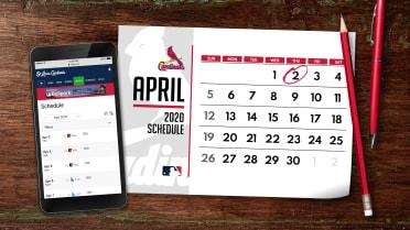 St Louis Cardinals Schedule 2020.Cardinals 2020 Schedule Released Mlb Com