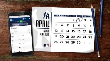 Ny Yankees 2020 Schedule.Yankees 2020 Schedule Mlb Com