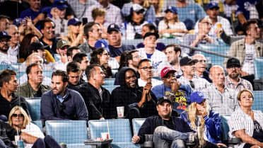Can you imagine sitting between Kevin Durant and Larry David at a baseball game?