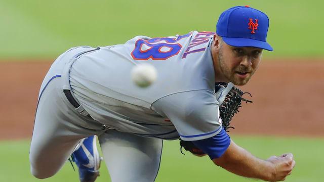 Megill's poise, talent impressing Mets