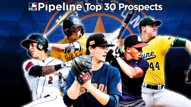 Here are the Astros' 2021 Top 30 prospects