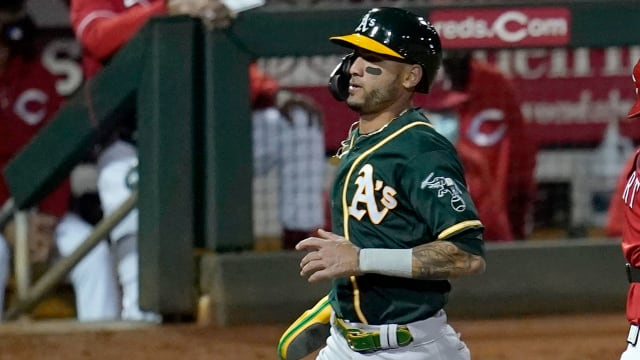 A's call up Luis Barrera; Moreland to IL
