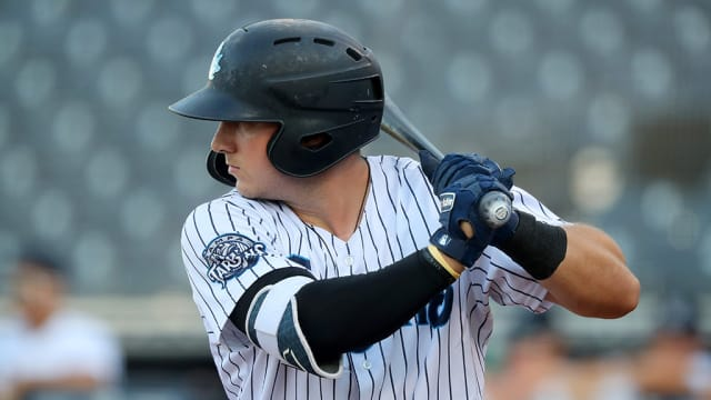 Yankees' Hauver continues homer barrage