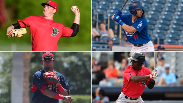 Red Sox instructional league prospect report