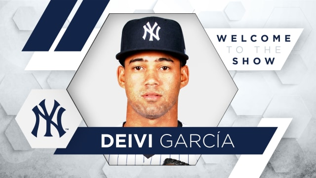 What to expect from Deivi García in bigs