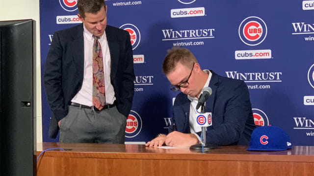 Cubs sign first-rounder Wicks