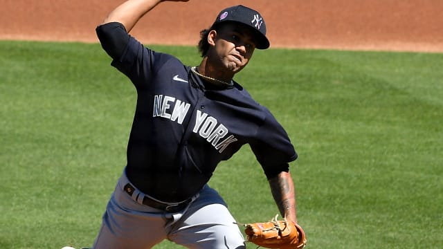 Deivi delivers in latest bid for rotation spot