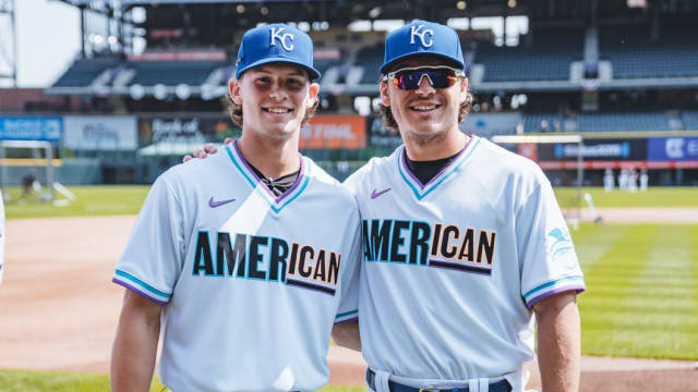 Royals promote Witt, Pratto to Triple-A