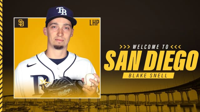 Padres' blockbuster trade for Snell official