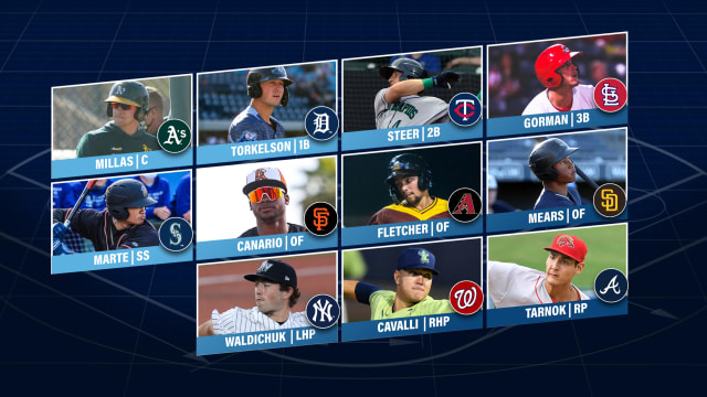 Torkelson leads Prospect Team of the Week