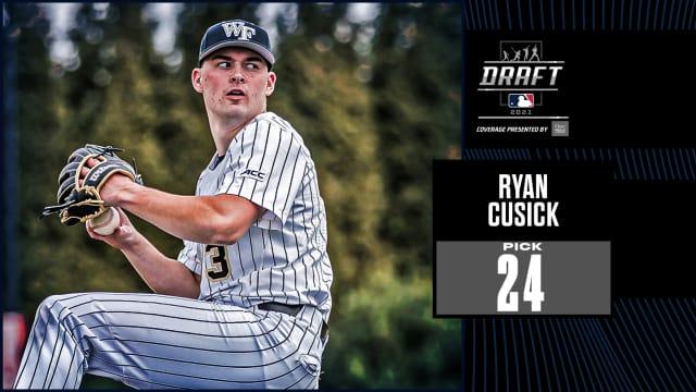 Braves draft RHP Ryan Cusick No. 24 overall