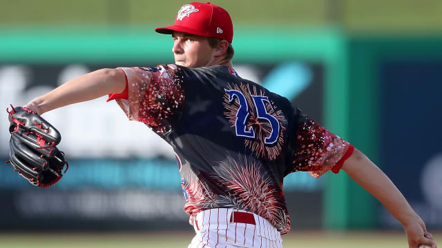 Abel reps Phils on new Top 100 Prospects list