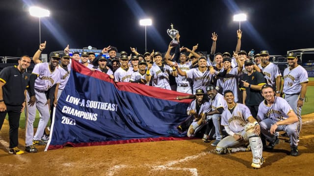 Low-A title latest win for Pirates' farm in '21