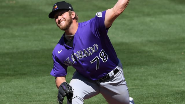 Rox call up prospect Gilbreath for twin bill