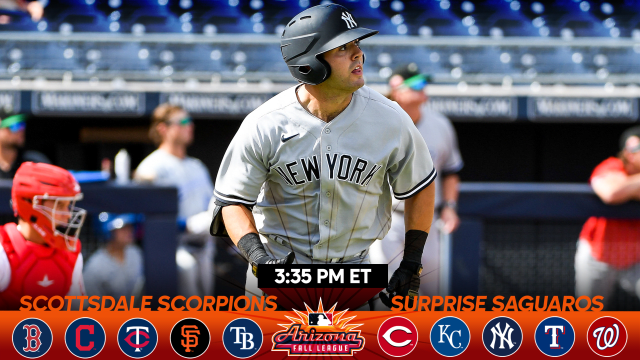 Yankees' Wells catching fire in AFL